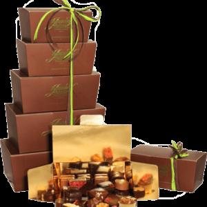 Ballotin d'assortiments de chocolat pur beurre de cacao