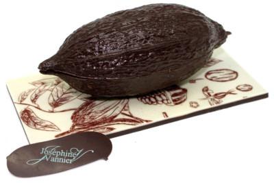 Objets en chocolat